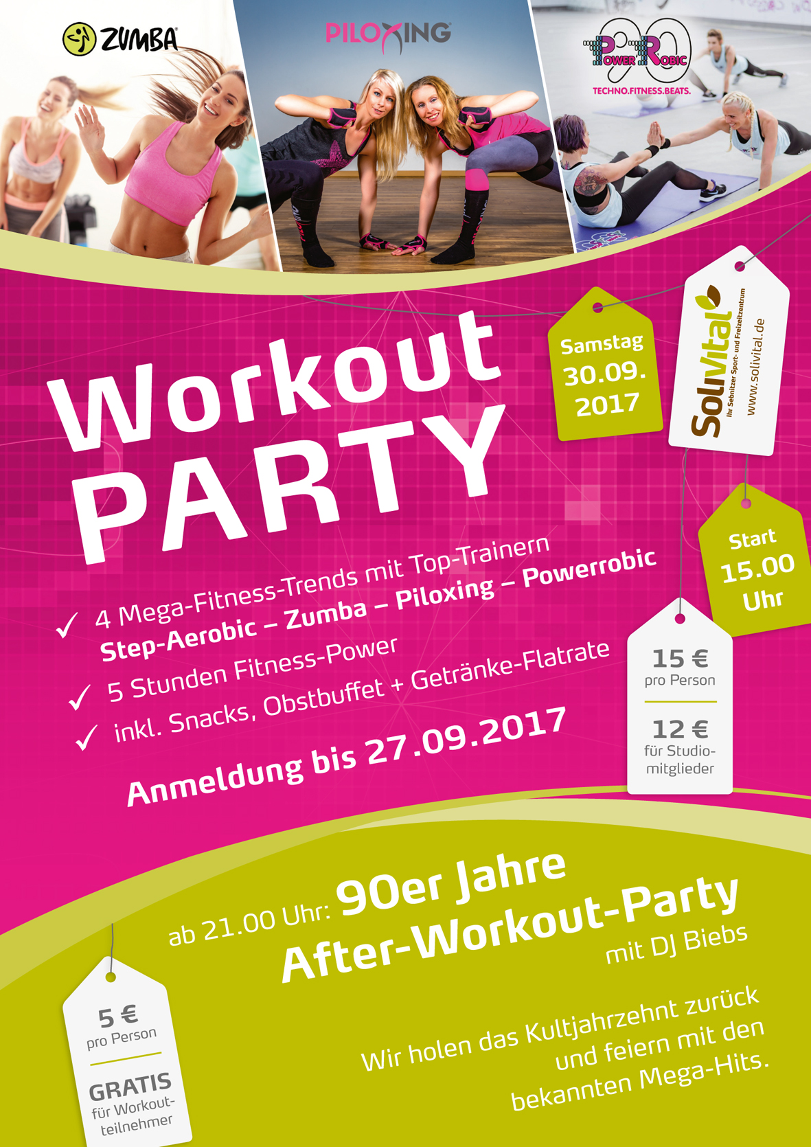 Fitness Workout Party SoliVital